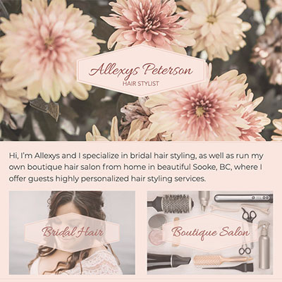 Allexys Peterson Hair Stylist
